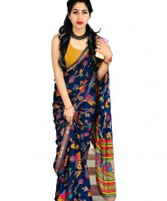 Serraw Women's Bangloriy Silk Digital Print Work Saree(KT131F591AP50)