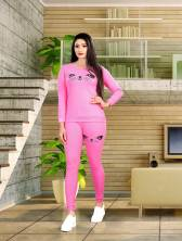 Free Size Solid Cotton Track suit
